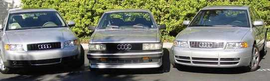 Three of my Audis