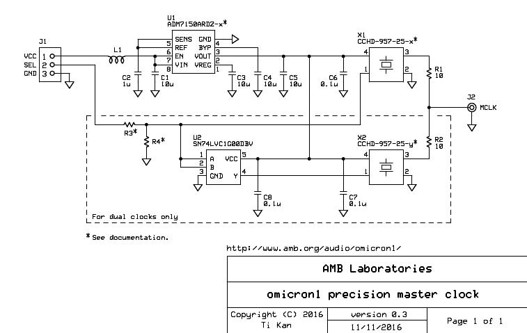 amb laboratories diy audio view topic ο1 precision master clock development